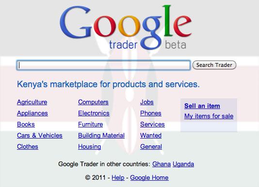 Google trader wikipedia