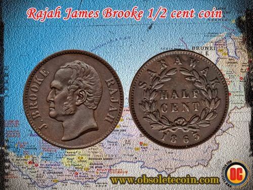 J.brooke 1/2 cent
