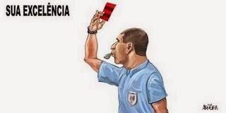 """Invencível Mengão dá ultimato à CBF: ou árbitros voltam a """"roubar"""" para o clube ou vão abandonar o Brasileirão"""