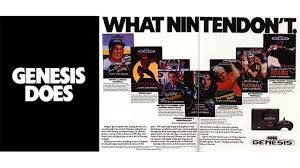 Pubblicità molto ironica del Sega Genesis
