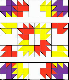 Tutorial how to make the quilt pattern