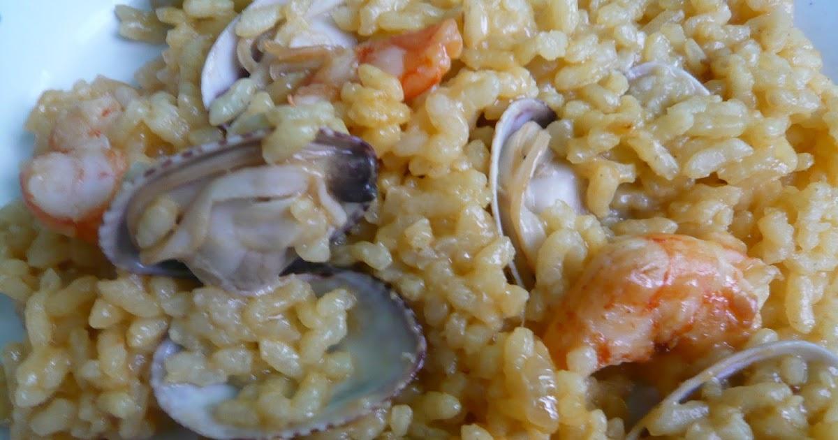 El mandil n de mam arroz con gambas y almejas - Arroz con gambas y almejas ...