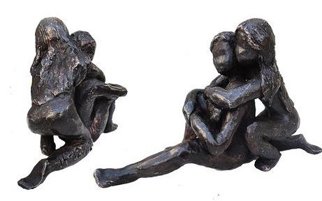 Bronze sculpture wedding gift