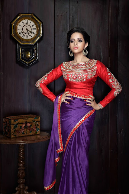 Bhavana Photoshoot for FWD VIVAH Magazine bridal issue
