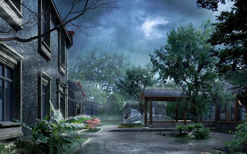Gambar Ketika Hujan Paling Keren