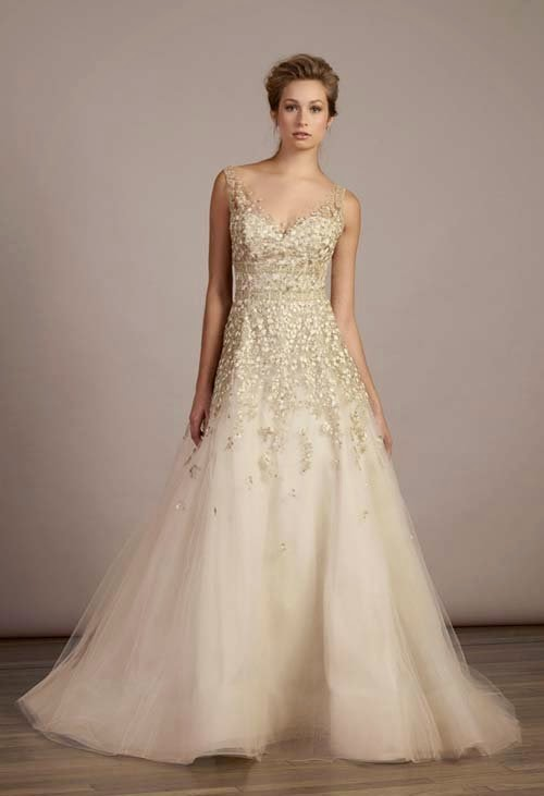 2015 Spring wedding dress ideas by Liancarlo