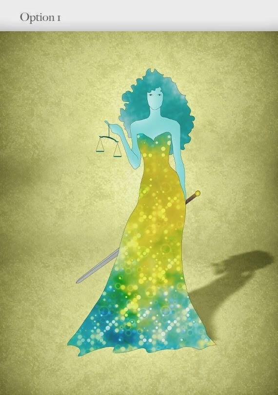 Ilustracion Fashion Zodiaco Mujer Libra