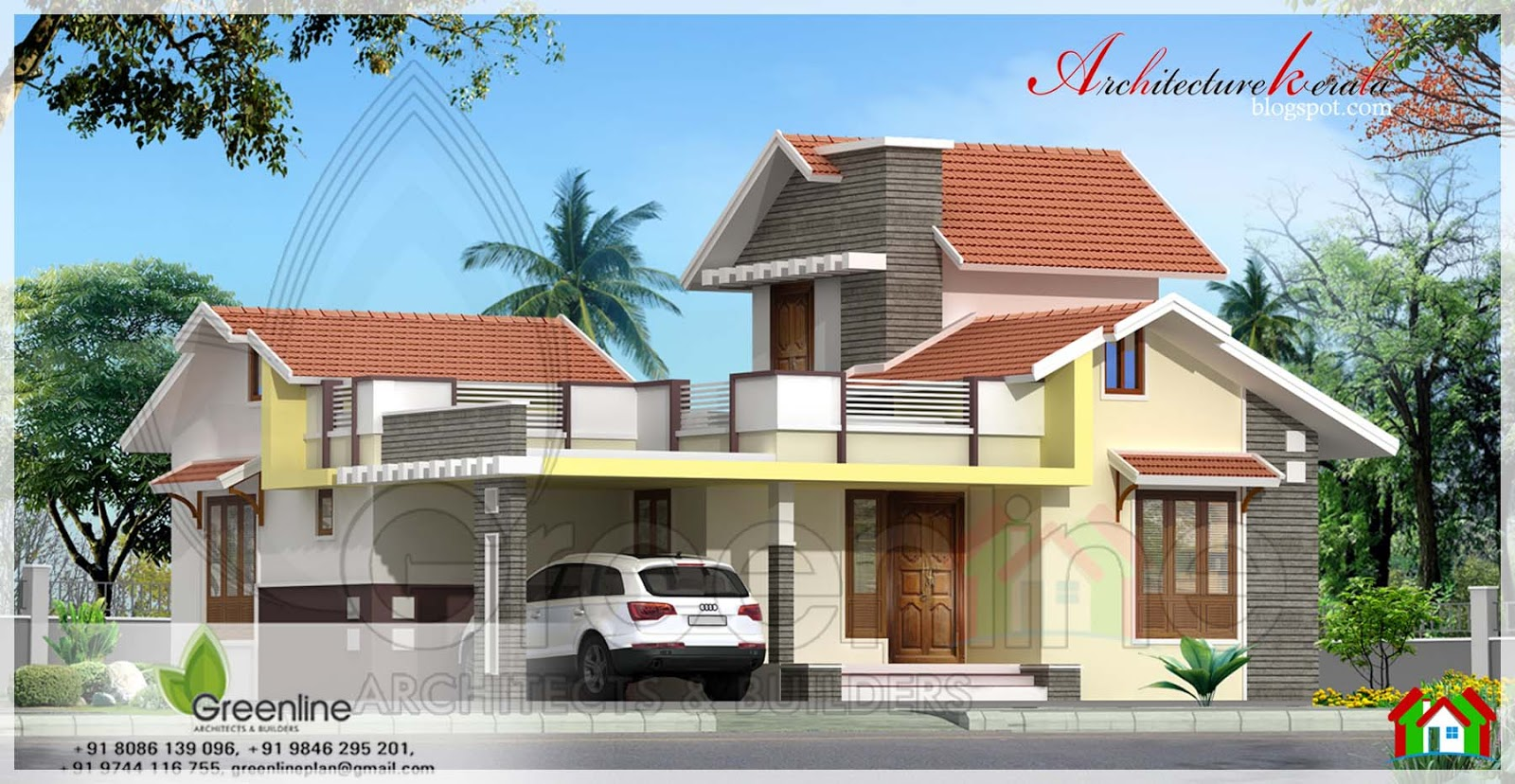 1250 square feet 3 bedroom kerala house architecture kerala for Kerala home style 3 bedroom