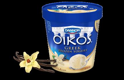 7 Kids and Us: Dannon Oikos Greek Frozen Yogurt Review