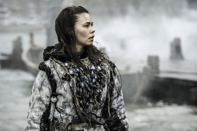 Birgitte Hjort Sørensen es Karsi en Game of Thrones