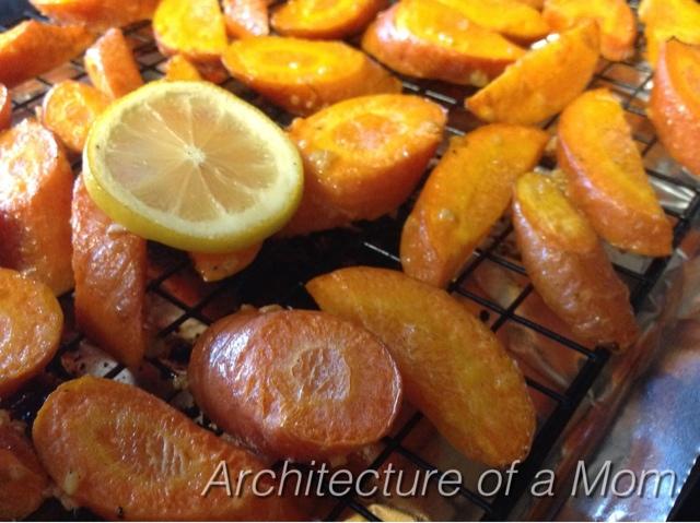 Lemon Garlic Carrots
