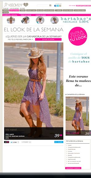 LOOK DE LA SEMANA EN STYLELOVELY