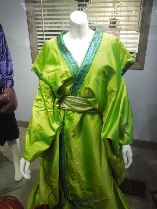 47 Ronin green Witch kimono costume