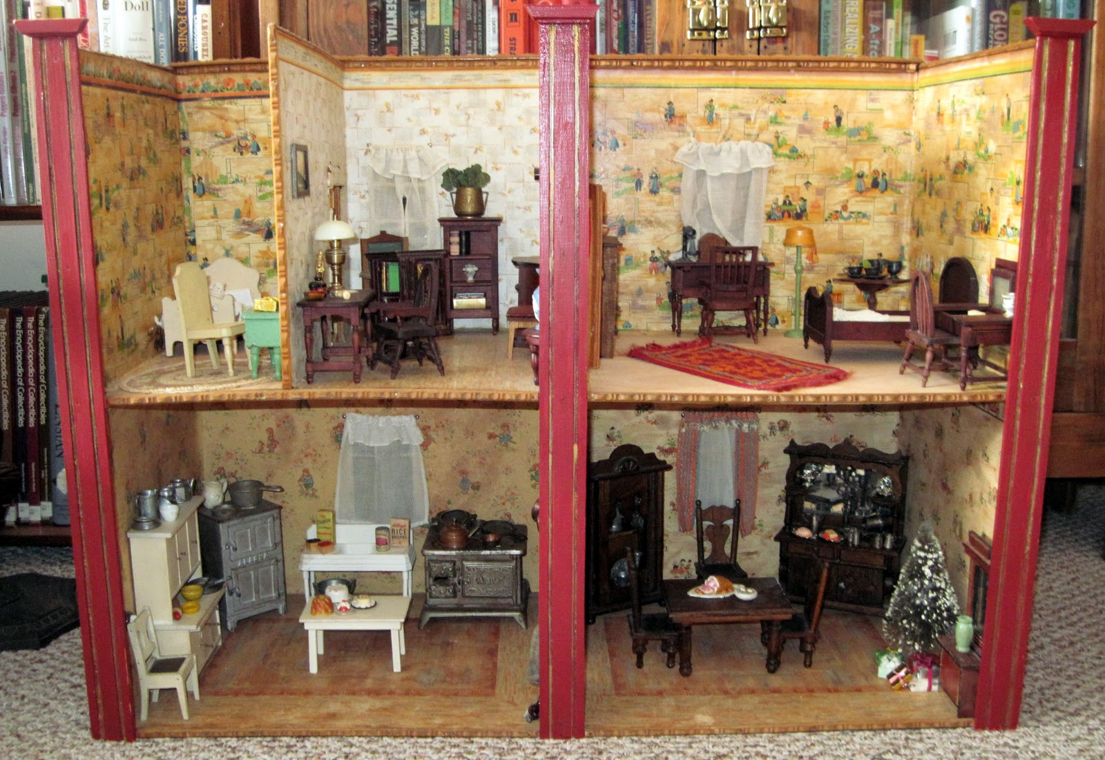 Tracy S Toys And Some Other Stuff German Room Box Dollhouse