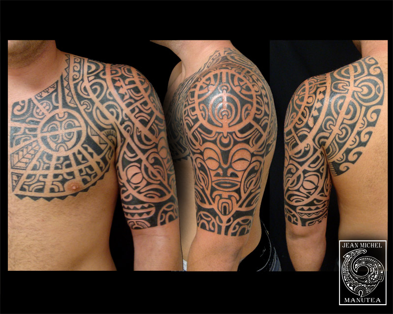 Traditional Hawaiian Tattoos