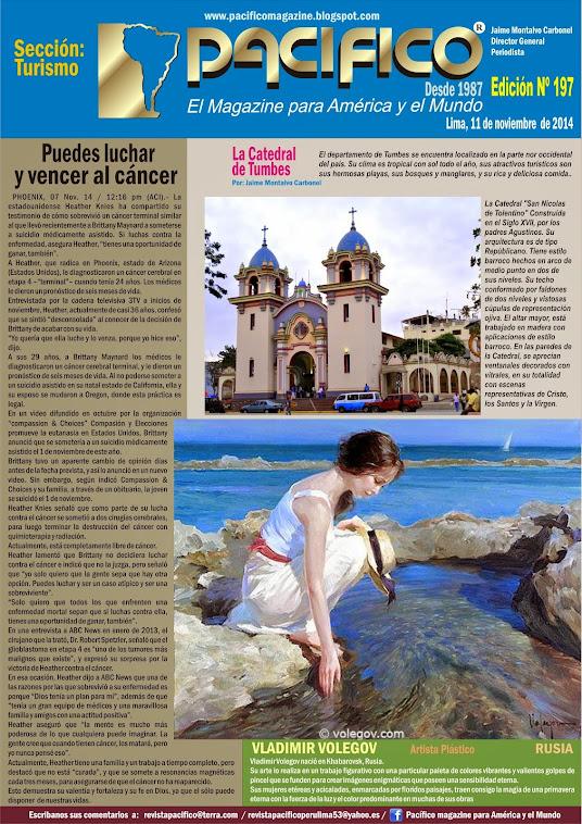 Revista Pacífico Nº197 Turismo