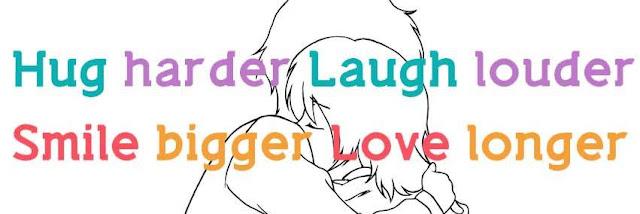 Hug Harder Laugh Louder Facebook Timeline Cover
