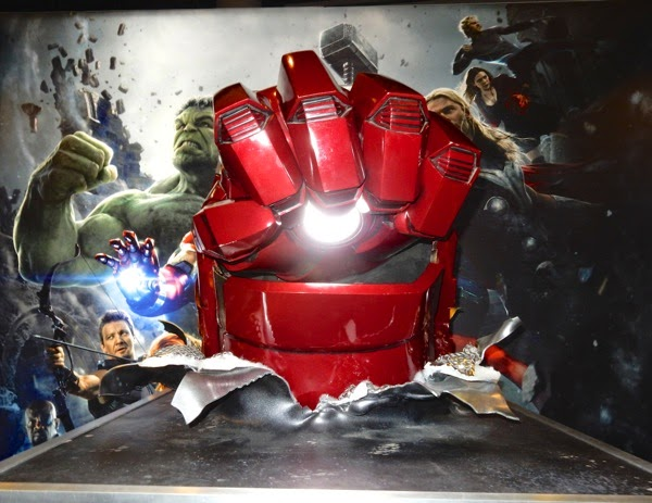 Iron Man Hulkbuster fist prop Avengers Age of Ultron