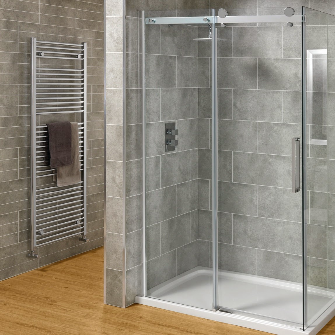 Designing a Shower Wall With a Curved Or Angled Glass Block ...