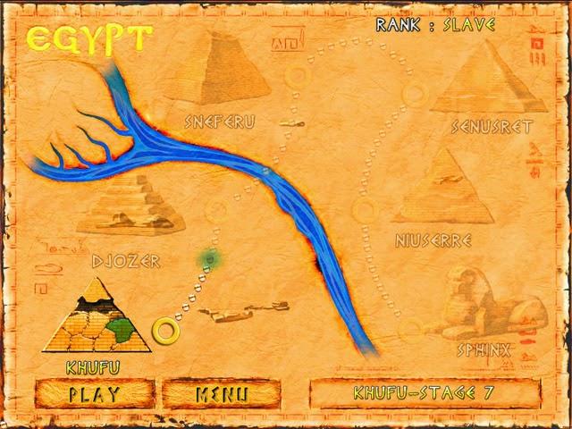 Game Brickshooter Egypt