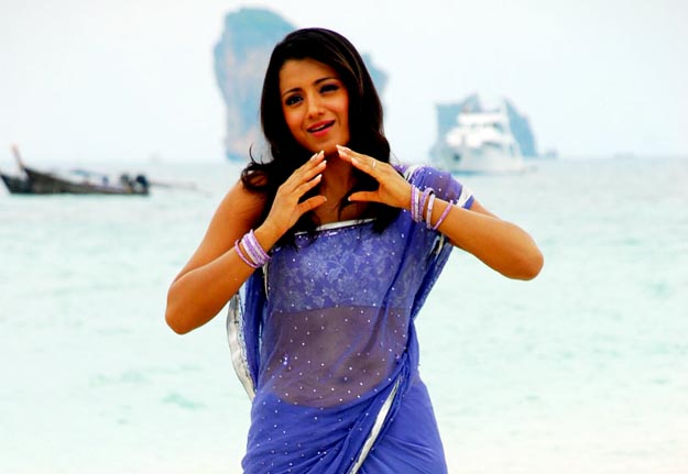 Trisha Cool Beach Photos