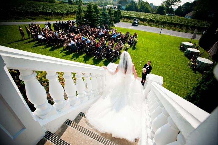 North fork winery wedding