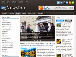 NewsPro - Free Wordpress Theme