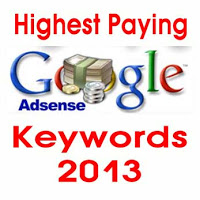 Highest Paying Google AdSense Keywords