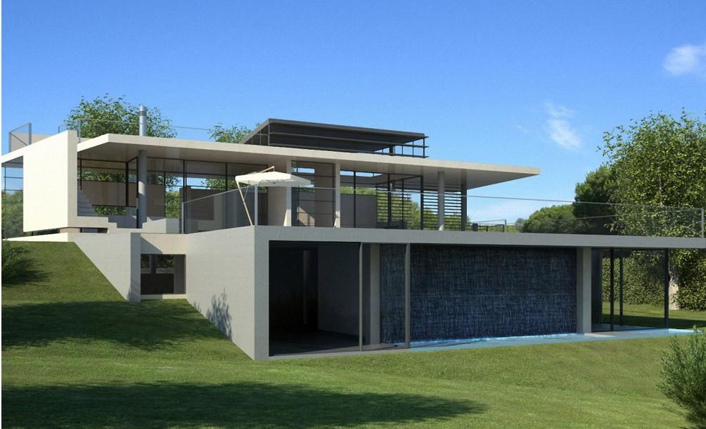 Contoh desain villa minimalis modern terbaru 2016 for Villa moderne 2016