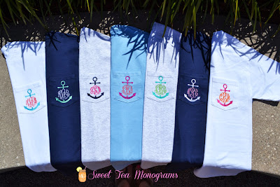 Nautical Monograms: Sweet Tea Monograms