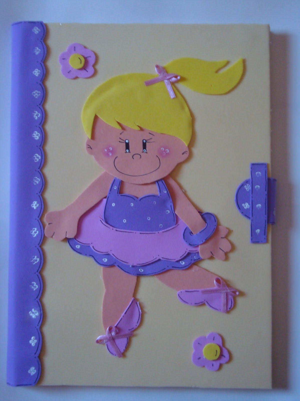 El arte de educar portadas de cuadernos con goma eva - Con goma eva ...