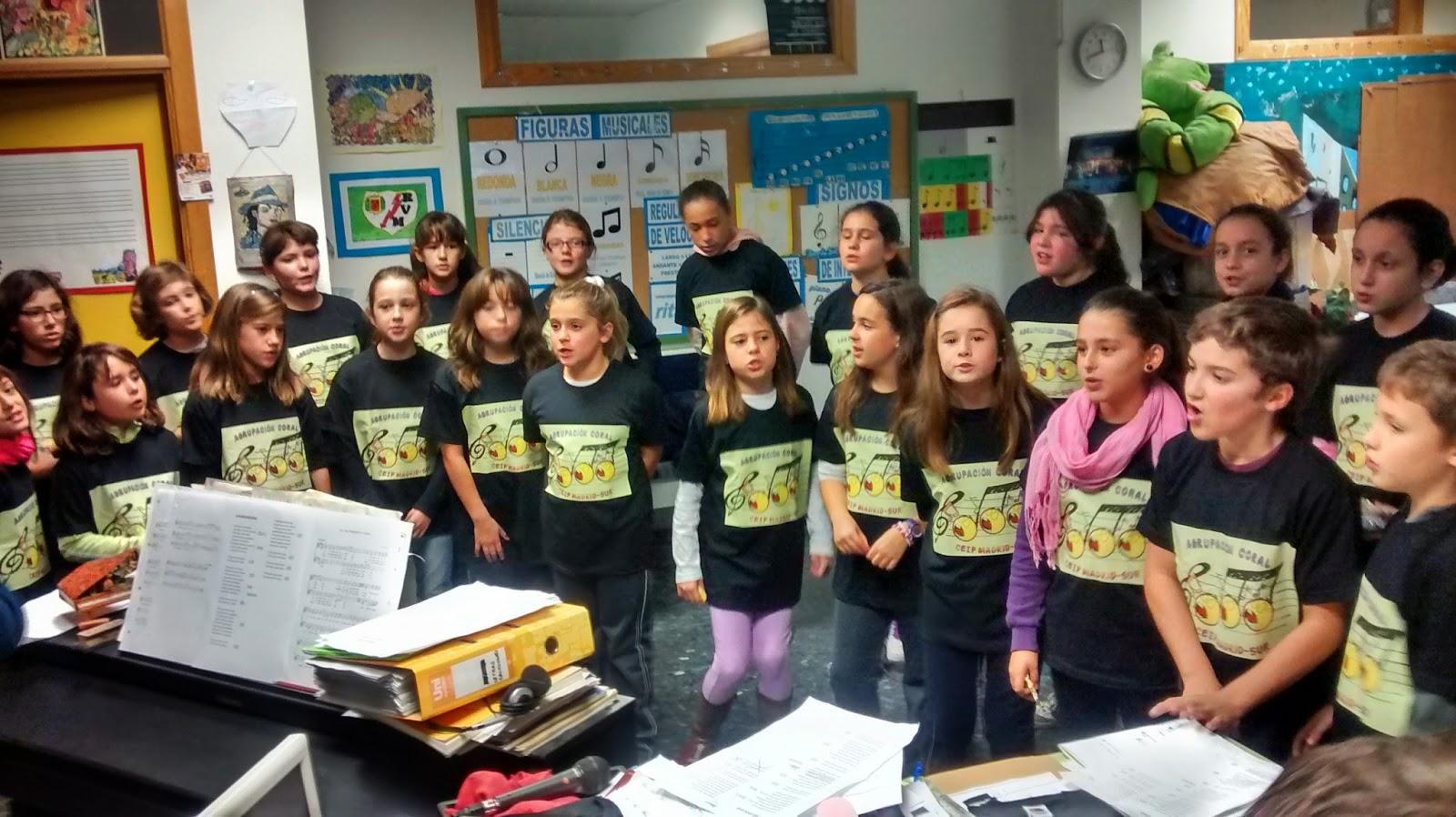 Coro escolar del ceip madrid sur - Colegio escolapias madrid ...