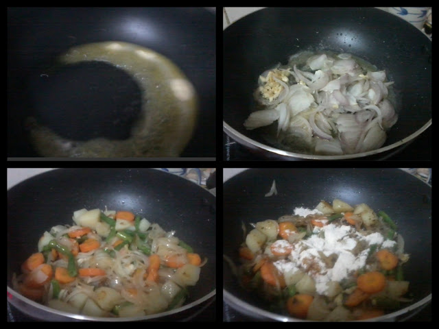 Chicken Stew-Preparation