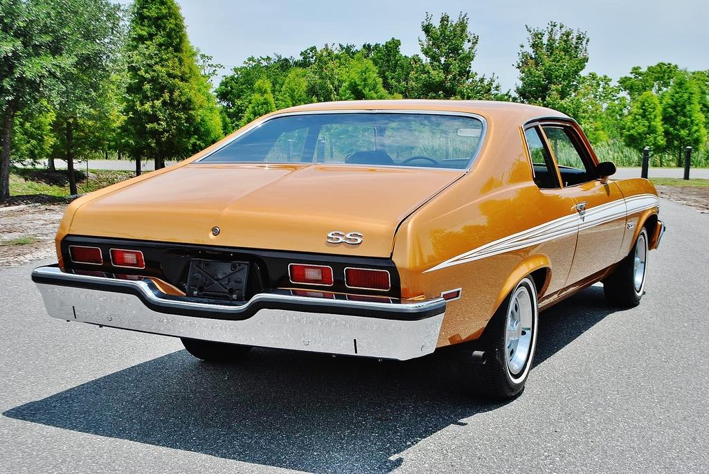 All American Classic Cars: 1973 Chevrolet Nova SS 2-Door Coupe