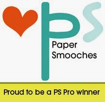 I won the Paper Smooches April Sketch Challenge