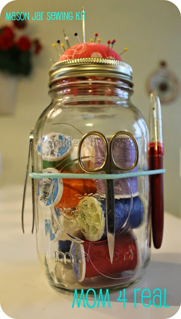 http://www.mom4real.com/2012/02/mason-jar-sewing-kit.html