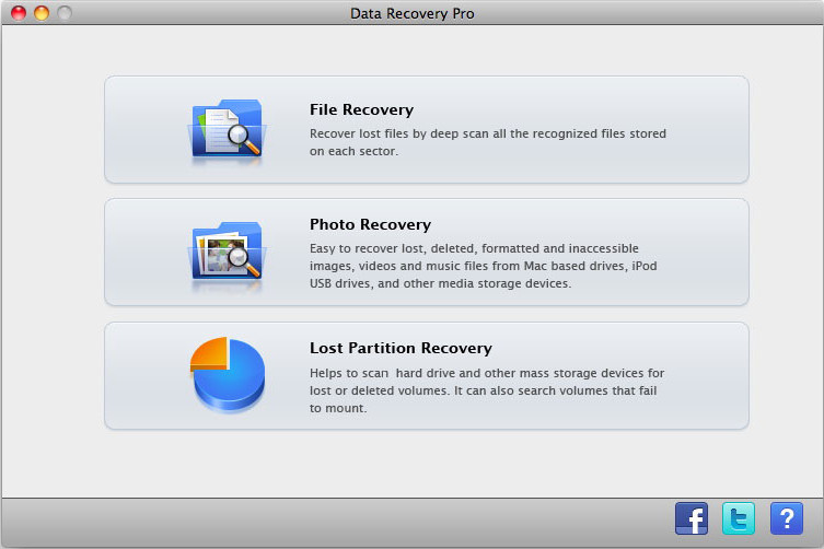 Step 1 choose file recovery mode
