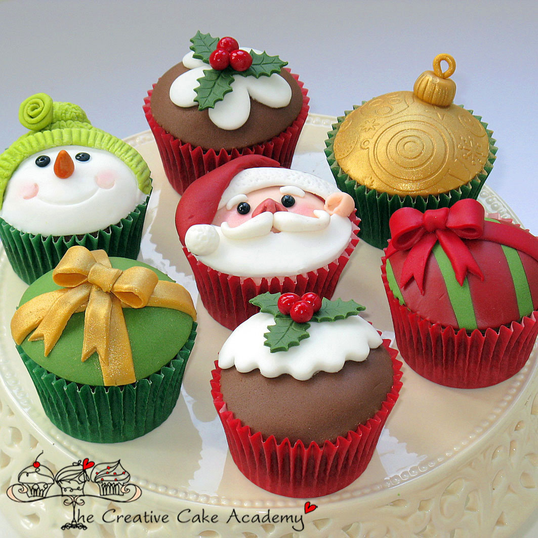 Enrich Your Life: Our Creative Cupcakes For Christmas Course Has Arrived