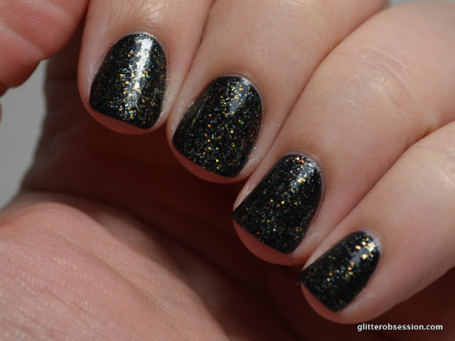 Orly Shining Star swatch, Orly Shining Star nail swatch