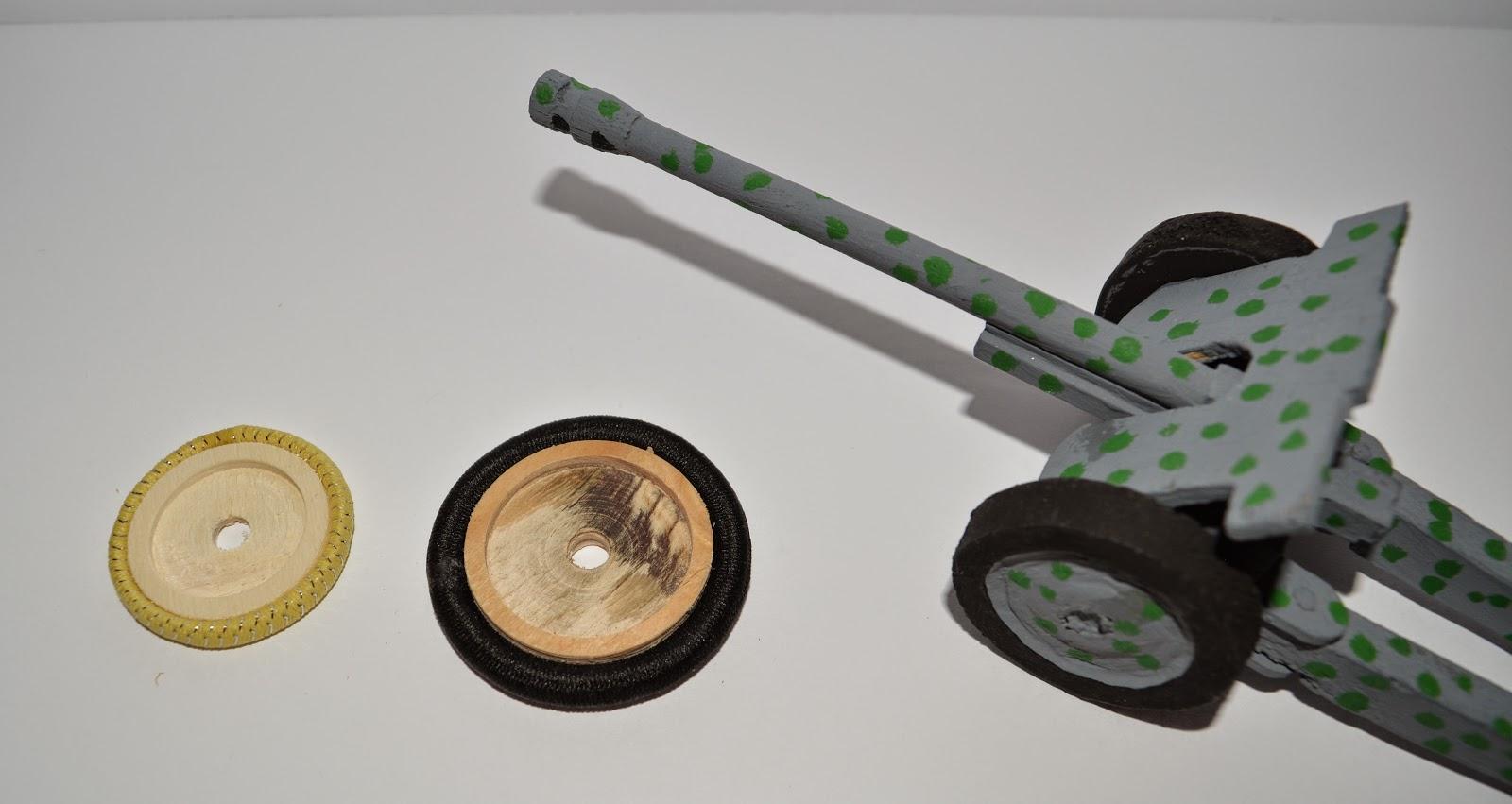 Miniature artillery