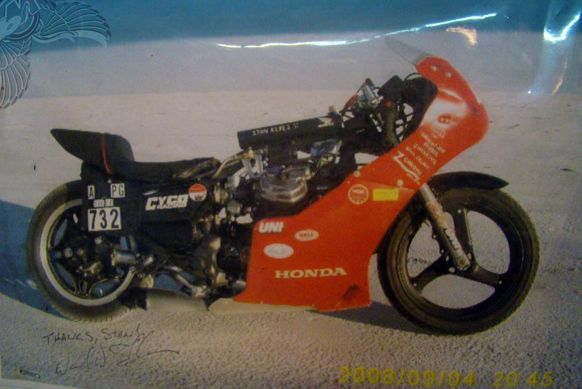 honda cx500 bonneville world record holder stan keyes   cyco racing