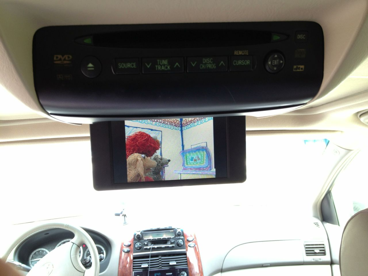 2004 2010 Toyota Sienna Xle Dvd Entertainment System Does Not