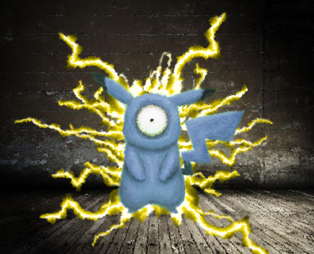 Pikachu and Magnemite Fusion