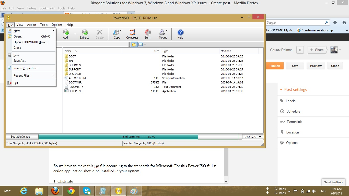 USB DVD DOWNLOAD TOOL THE SELECTED FILE IS NOT A VALID ISO FILE