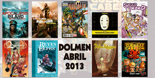 novedades dolmen abril
