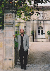 Bill at Chateau Canon, St. Emilion, Bordeaux, France