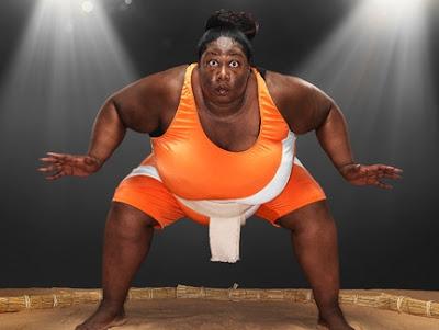 Sharran Alexander heaviest sportswoman