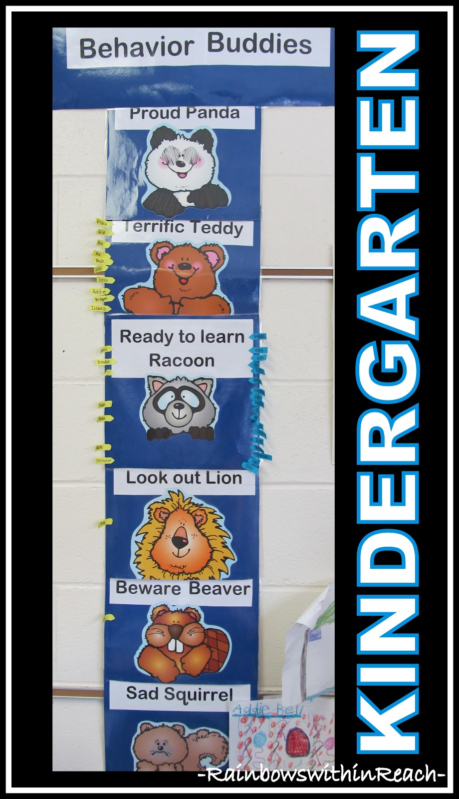 Classroom Behavior Ideas ~ Rainbowswithinreach spot