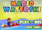 Mario Water Ski