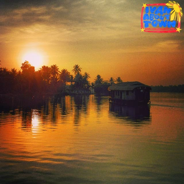 Houseboat in Alleppey, Kerala, India